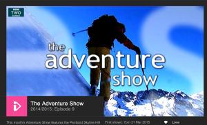 long straight walk on the adventure show